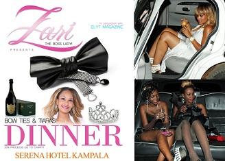 Zari Bow Ties & Tiaras Dinner