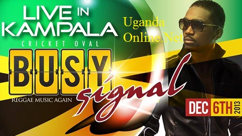 Busy Signal will be live on Dec 6 at the Cricket Oval
