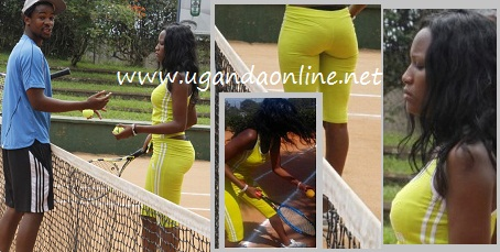 Doreen takes her curves to Lawn Tennis