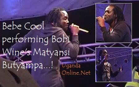 Bebe Cool doing Bobi Wine's Matyansi Butyampa