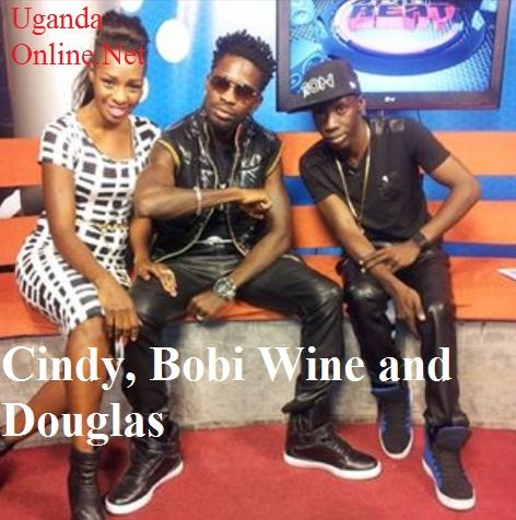 Cindy, Bobi Wine join Douglas to premiere their video
