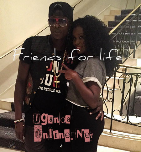 Chameleone and Juliana at the World Trade Centre