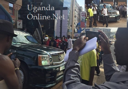 Chameleone's Escalade a tourist attraction in Kenya