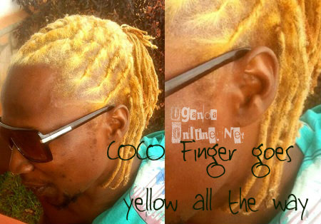 Coco Finger tints hair yellow
