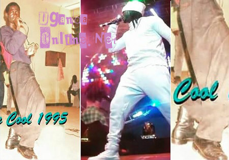 Bebe Cool in 1995 and NOW