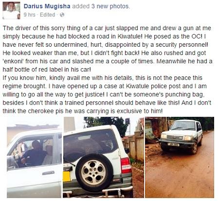 Darius Mugisha's post
