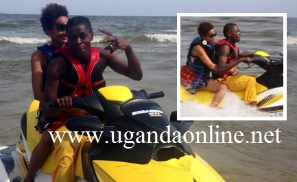 Chameleone and Daniella at Spenah Beach in Entebbe