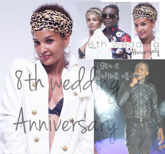 Chameleone has sent Daniella a message on their 8th wedding anniversary