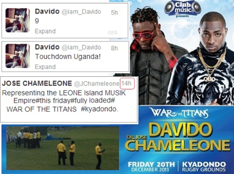 War of Titans Is On - Chameleone