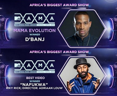 Evolution and Best Video MTV MAMA 2015
