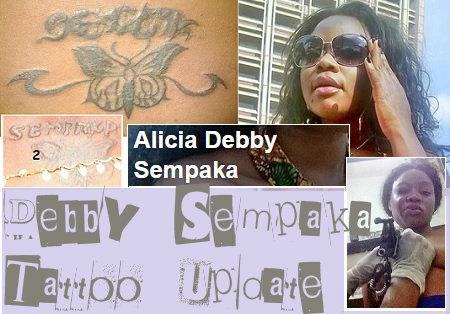 Debby Sempaka Tattoo update