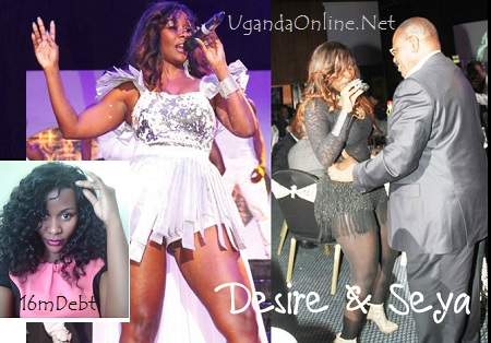 Desire and Seya at Serena and inset is Desire at the High Court after her arrest