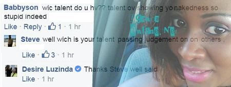 Fan wonders if Desire has any talent