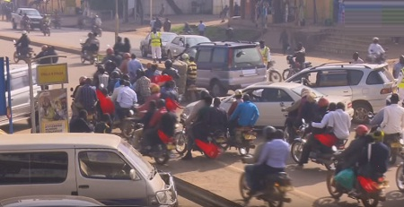 It was a feast day for the Boda Boda riders