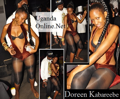 Doreen having a ball at Rouge