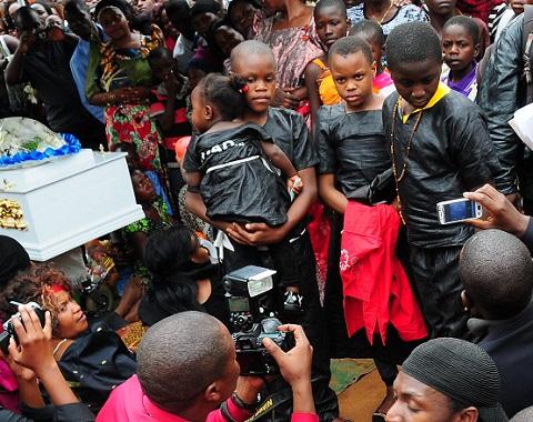 Paddy Bitama's children