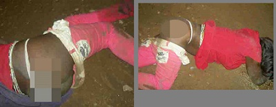 A gal onkly identified by Mulongo after being raped
