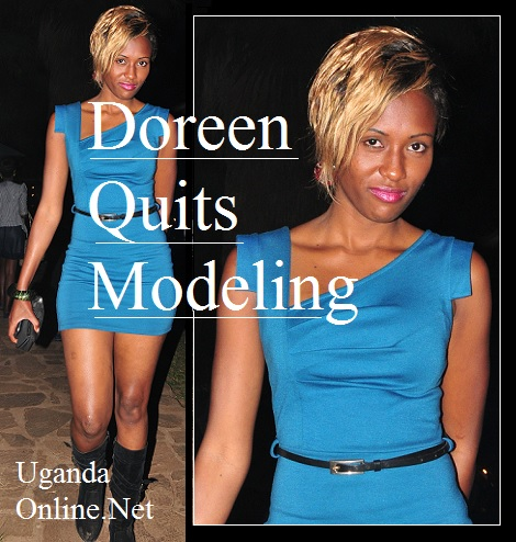 Model Doreen Kabareebe quits