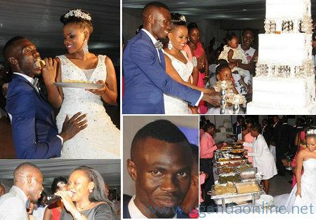 Emma Okwi's wedding at UMA