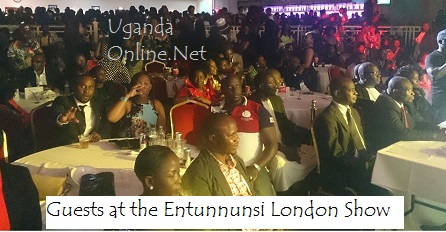 The guests at the Entunnunsi London Show