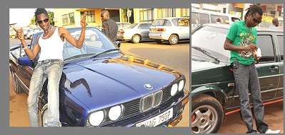 Coco Finger in his latest BMW after disposing off the Golf