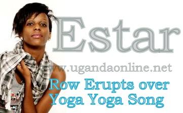 Esther Nabaasa in row with Kaweesa over the Yoga Yoga song