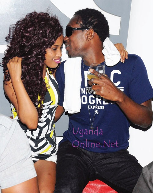 Busy Signal whispering sweet nothings to Esther