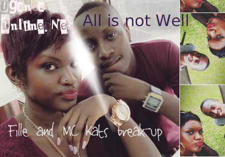 Fille and Mc Kats break-up days to their wedding