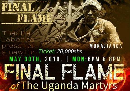 Final Flame of the Uganda Martyrs