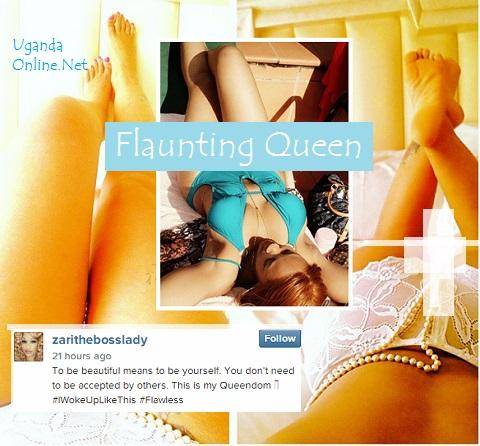 Socialite Zari Hassan, the Flaunting Queen