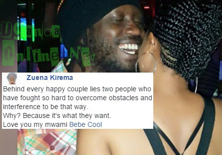 Bebe Cool and Zuena happy moments