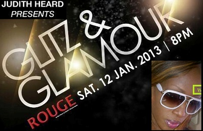 Glitz and Glamour nite at Rouge by Judith Heard