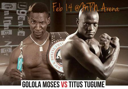 Golola Moses VS. Titus Tugume this Valentine's day