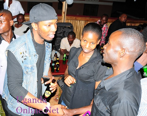 GNL Zamba chatting with some of the guests