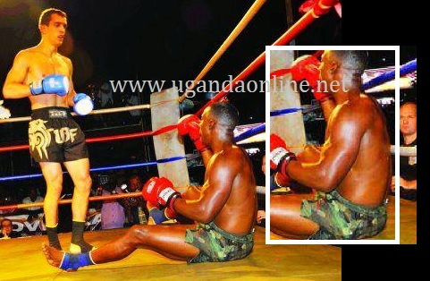 Golola pleading with Mate to stop punching him