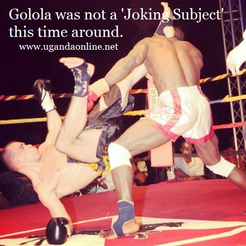 Moses Golola was no joke this time around as he beat the hell out of Istvan Betyar