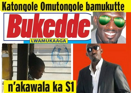 Katongole topping the headlines