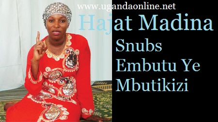 Hajat Madina of the Bibuuza fame let down her fans