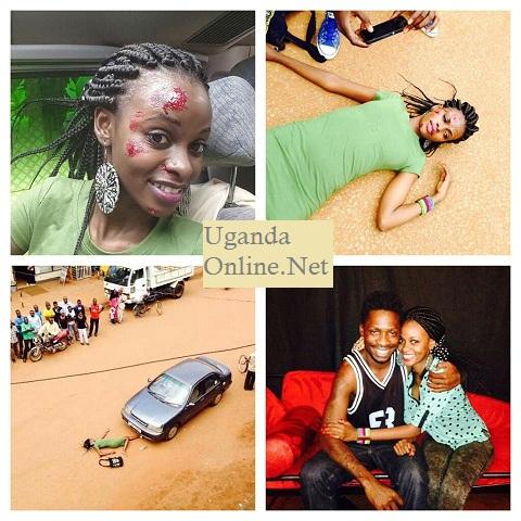 Helen Lukoma and Bobi Wine in the Situka movie