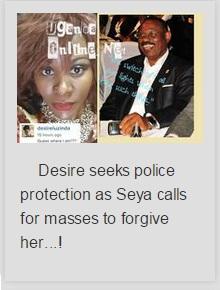 Desire Luzinda seeks police protection
