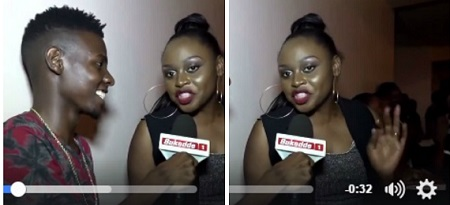 Rema during the interview