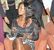 A babe at the front row during the Igwe charity show