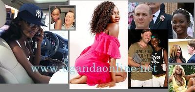 Uganda Female Celbrities dating white men