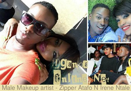 Zipper Atafo and Irene Ntale so close