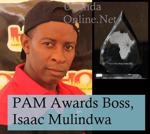 Isaac Mulindwa of the defunct PAM Awards
