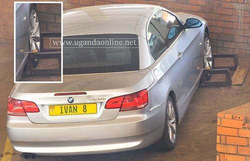 Ivan's car at Garden City