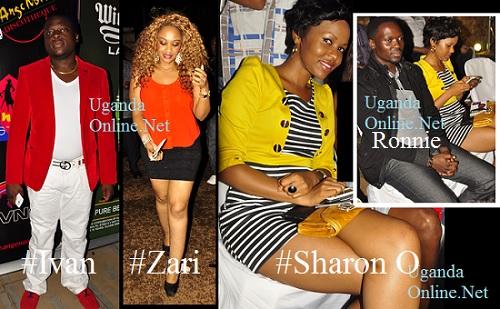 Tycoon Ivan Ssemwanga, Zari, Sharon and inset is Sharon and Ex.