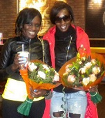Jackie and Cindy in Amsterdam