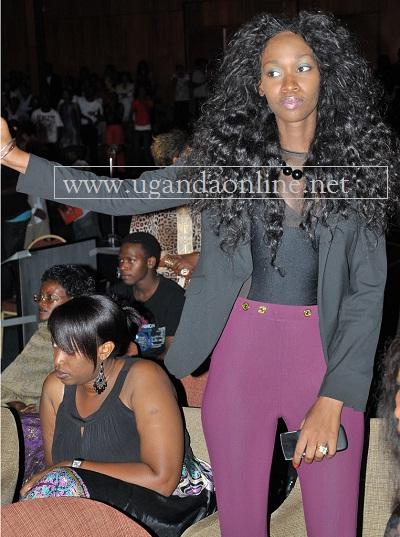 Judith Heard at Kampala Serena Hotel during the Igwe Charity Concert