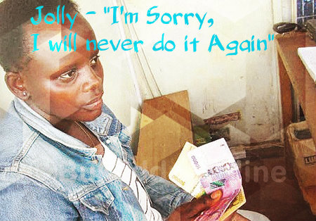 Jolly Tumuhiirwe asks for forgiveness